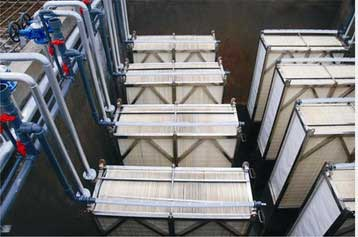 MBR biological membrane filtration, MBR wastewater treatment process
