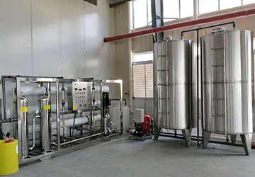 Deionized water equipment pollution prevention, water tank pollution prevention