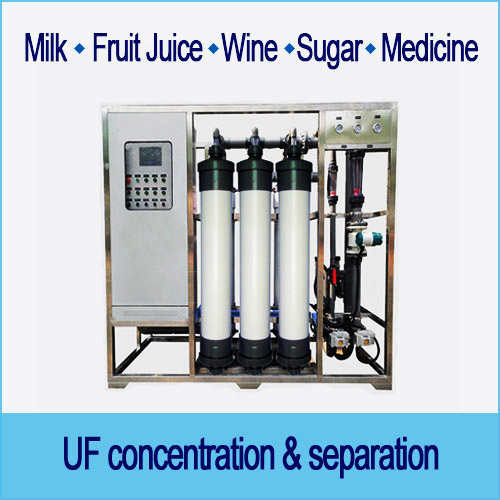 Industrial liquid filtration, UF membrane ultrafiltration